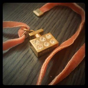 Michael Kors charm necklace
